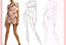 fashion drawing sketches