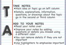 Nauka (prowadzenie zeszytu/notatek)