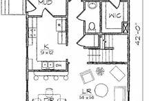 Bungalow house plans (layout)
