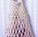 Macrame string bags