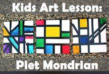 Pieter Mondriaan, geometrikus absztakciók