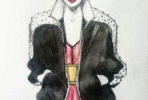 Fashion Illustration / my fashion Illustrations