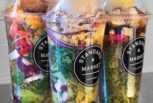 Salad Jar ideas for lunch