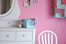 children's rooms / by Michelle @ latenightquilter.com