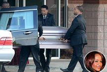 Sad! Bobbi Kristina's Casket Arrives At The Church For Her Funeral (Photos)