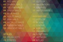 31 Day Nail Art Challenge 2015 / All of my nail art looks for the 2015 challenge right here in one spot!
