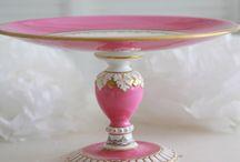 elegant cake stand