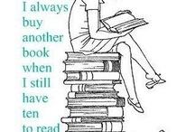 Books books and more books / by Mattie Wright