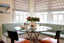 DRAPERY // CURTAIN / Drapery, curtains and window treatments