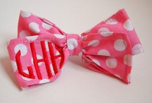 Monogram Me! / Personalized prezzies! Perfect! www.perfect-pair.com / by Sally Sevila