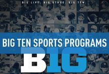 Big Ten Conference / Official Big Ten Sports Publications, produced by IMG College. #BigTen