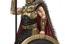 Greeks Roman-big around