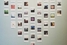 polaroid pictures display