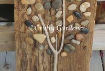 lucrare lemn si pietre