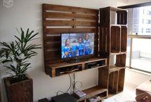 "Meuble TV ""maison"""