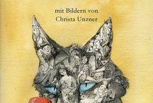 Grimms Märchen / Grimms Märchen mit Zeichnungen von Christa Unzner http://null-papier.de/shop/grimms-maerchen-illustriertes-maerchenbuch/