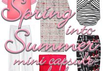 spring into summer mini capsule / ...just 5 patterns, a little sewing time and some yummy fabic et voila, an easy-peasy spring-into-summer capsule...