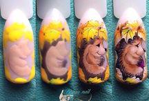 природа ногти