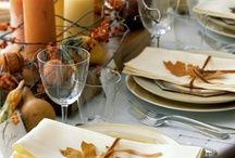 Thanksgiving Tables & Decor