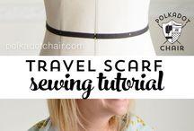 Sewed scarf