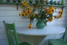 summer on the porch / decorating a summer time porch