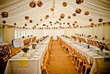 Marquee / If you have lots of guests you want to invite, have a marquee!