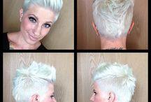 Korte frisyrer