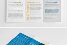 Graphics - brochures