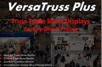 VersaTruss Plus / We are the leading manufactuerre of Truss Trade Show Booths. We now offer our standard booth kits at factory direct prices manufactured in North America http://versatrussplus.com - email us at info@versatrussplus.com or give us a call 1 (888) 291-2989 #versatrussplus