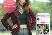 Blogger closets / Shop her style!