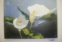 pintura em tela e tecido