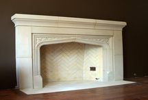 CAST STONE FIREPLACE DESIGN IDEAS