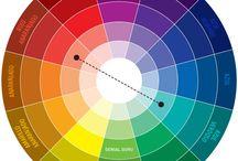 Colores. Primarios, secundarios, etc.