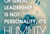 Leadership / On Leadership