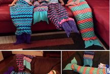 Fish tail blankets