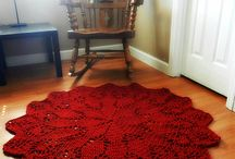 crochet rugs and doilies