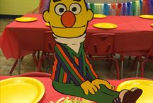 Sesame Street Room at Palm Tree Playground