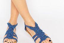 macrame shoes