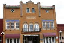The Historic Ramona Theater / The Ramona Theatre built in 1929, is an excellent example of the Spanish Colonial Style that was popular in the Southwest and Florida during the 1920's. The ornamentation of the facade, and the interior of the theatre are typical of the details that were combined from the Medierranean World to create a building reminiscent of a Spanish back-ground. This style was popular from 1915-1940, with most of the building being built in the 1920's.