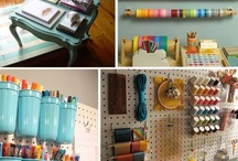 Home Decor: Craft room ideas / I am a lover of craft rooms, and this board is full of ideas to make your craft room/craft space as magical as you want it...