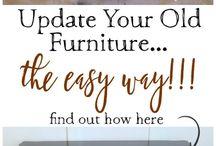 Uudista vanha huonekalu