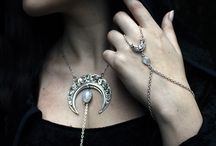 Midnight Nymphs / https://www.etsy.com/shop/midnightnymphs Gothic and Fantasy inspired jewerly