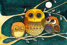 Owls / by Susanne Fountain