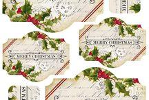 Merry Christmas! / Lavori fai-da-te e tante buone idee per rallegrare i regali di natale, preparare i biglietti d'auguri, abbellire la casa