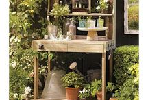 Gardening: Potting Benches