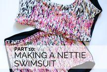 Closet Case Patterns Nettie Pattern Hacks / Love the Closet Case Nettie Dress & Bodysuit?  Do even more with this super easy and versatile pattern.