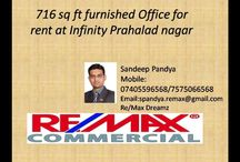 Furnished Office for rent at Prahalad nagar