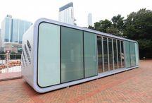 Plug and Play Home / Pequeña vivienda móvil de diseño futurista.  http://www.estudiodream.es/