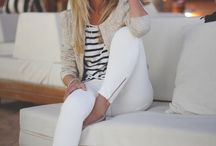 White pant outfits