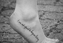 Tattoos / by Ashlee Bennett